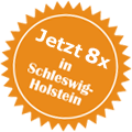 Button 8x in Schlewsig-Holstein